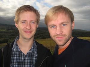 Matt & Per i Skottland 2009