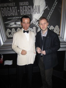 Humphrey Bogart på Madame Tussauds i London